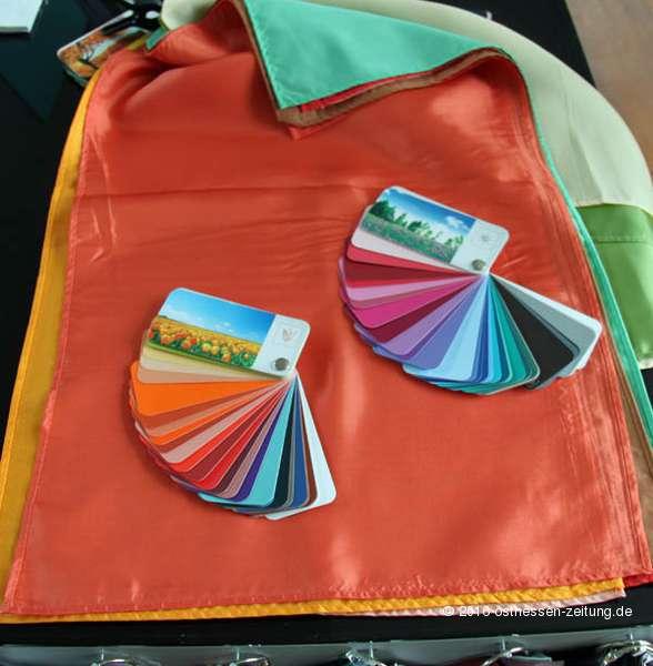 Beispielhafte Anwendung eines Farbpasses