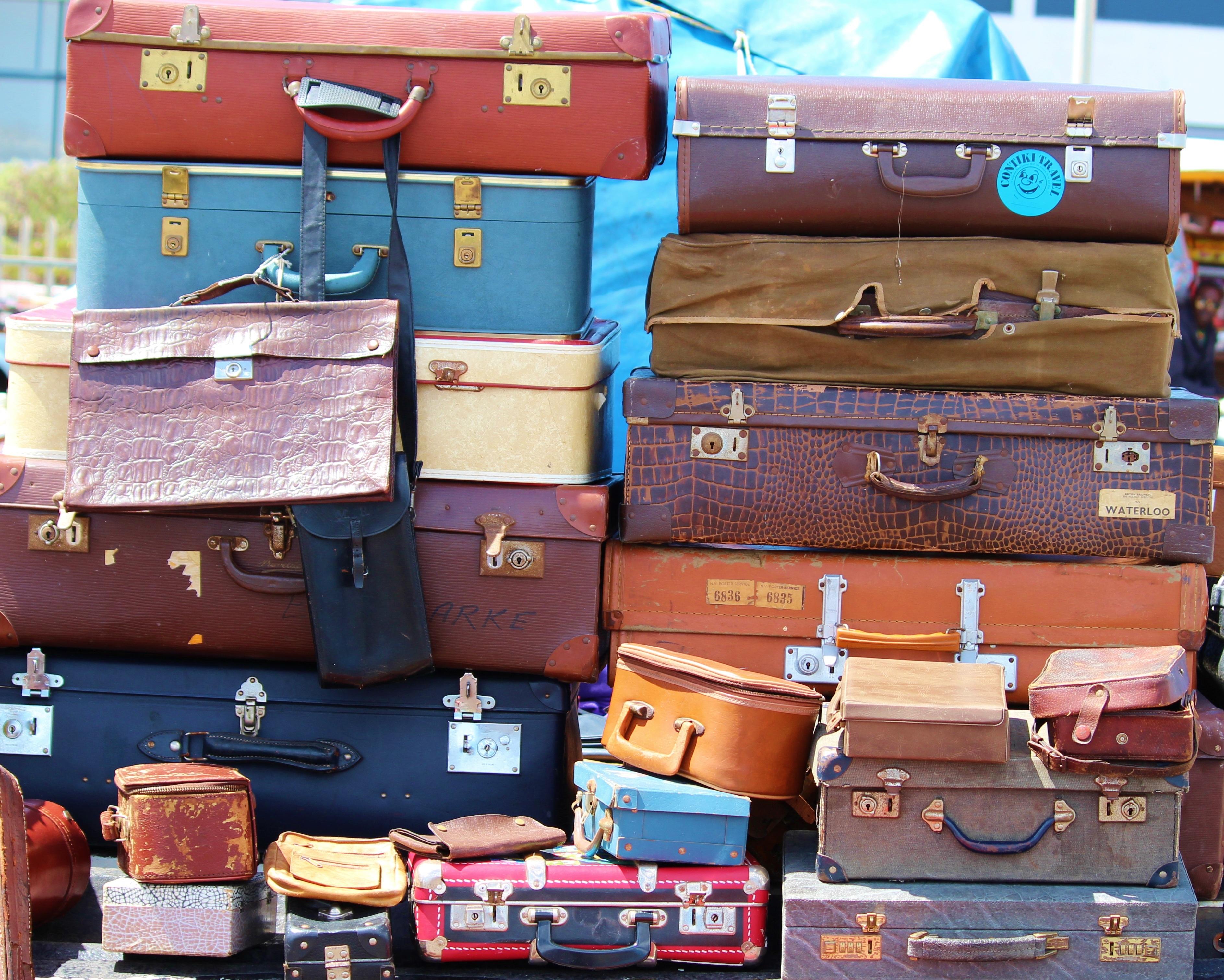 Knitterfrei Koffer Packen