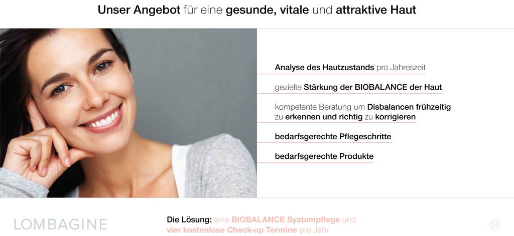 Infos zur Hautberatung mit Claudia Hansen, Lombagine-Beraterin aus Gersfeld
