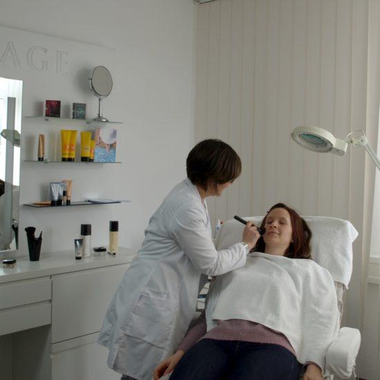 Make-Up-Termin mit Claudia Hansen im Lombagine-Center Fulda