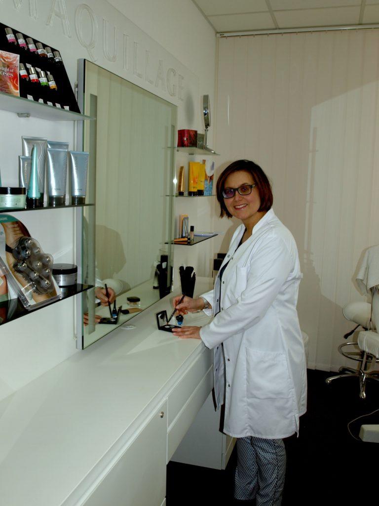 Hautfachberatung mit Claudia Hansen im Lombagine-Institut Fulda