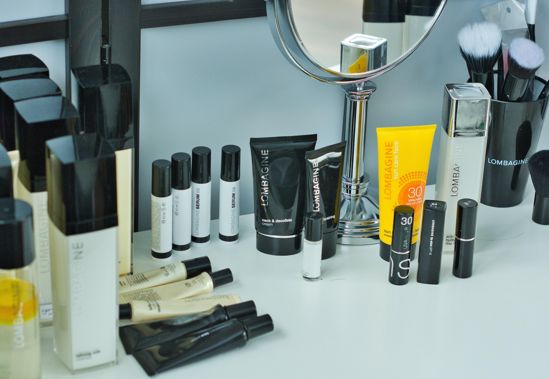 Lombagine-Kosmetikprodukte